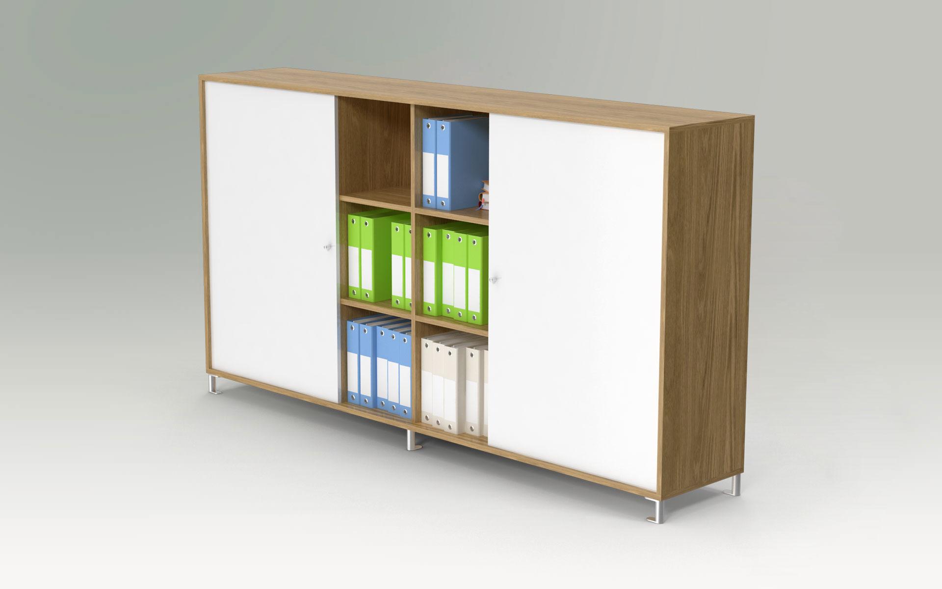 Individuelle Tischlermöbel aus Naturholz für Büro / Gewerbe