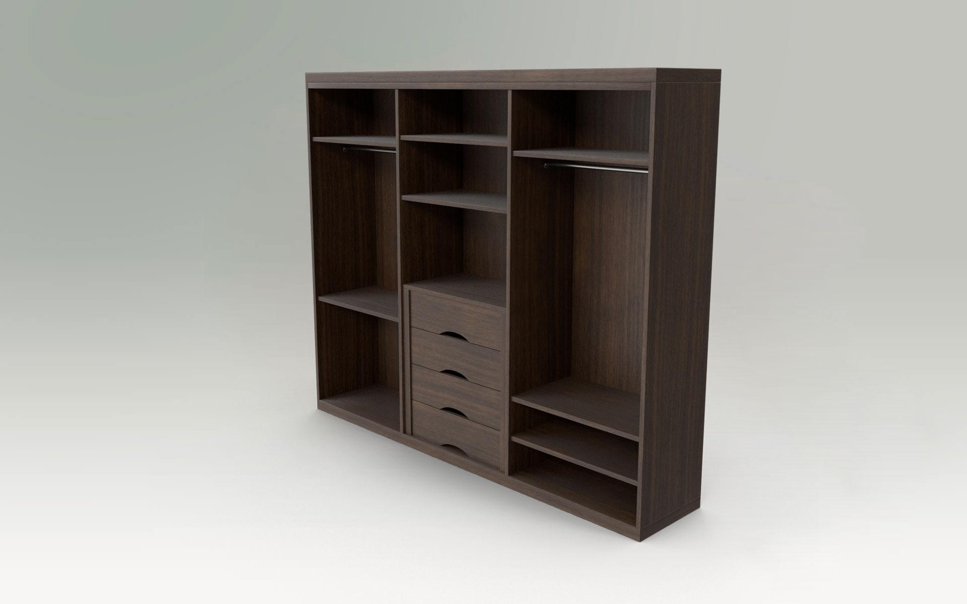 Individuelle Tischlermöbel aus Naturholz für Schlafzimmer | Ankleideraum