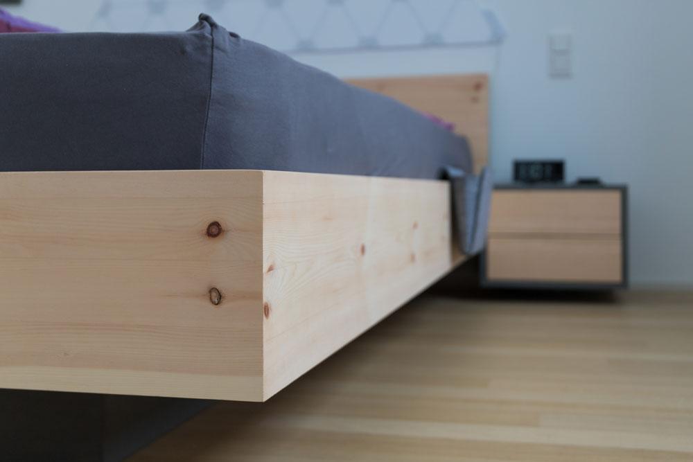 Massivholz Bett | Tischlerei Sankt Augustin | Schreiner | Tischler Möbel