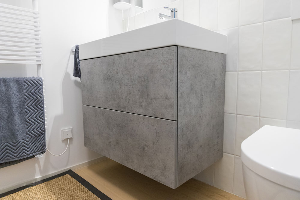 Waschbecken aus Eiche | Tischlermöbel individuell | Massivholz
